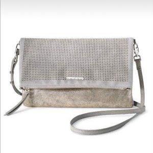Stella and Dot Slate Grey Waverly Petite Bag
